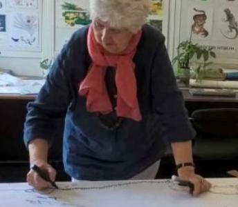 45 Χρόνια ζωγραφίζοντας για το Μουσείο